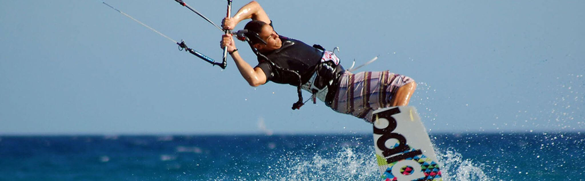 Kitesurfing in Baja California Sur
