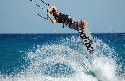 Kitesurf en Quintana Roo