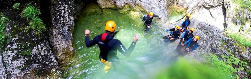 Offers of Canyoning  Veracruz
