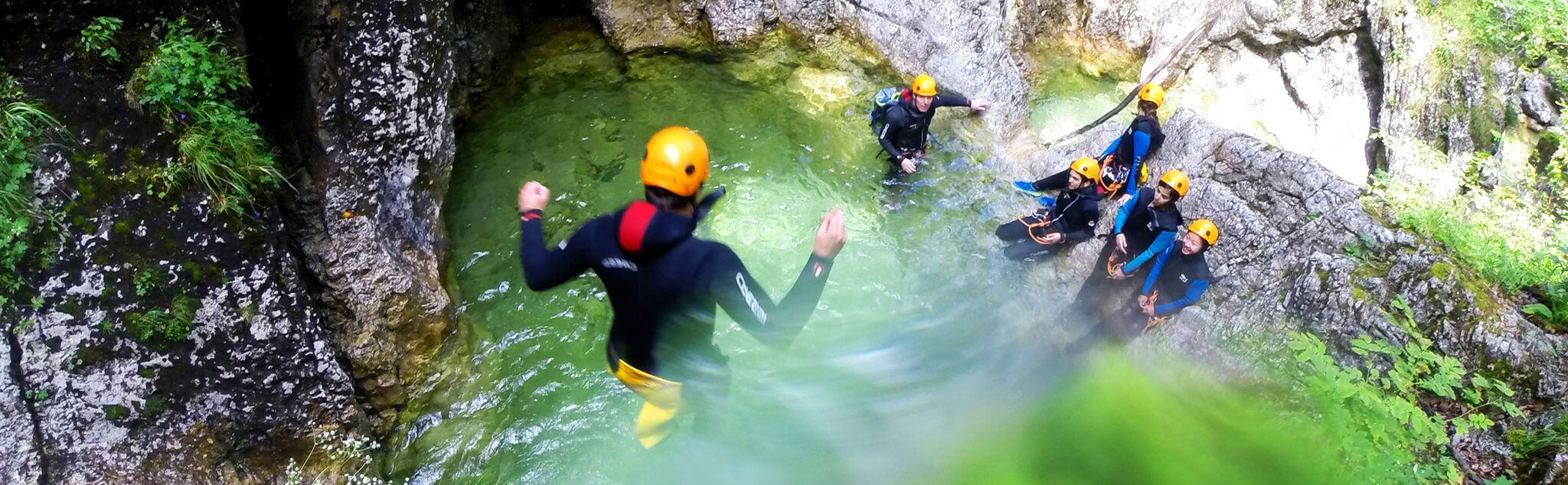 Canyoning in Estado México