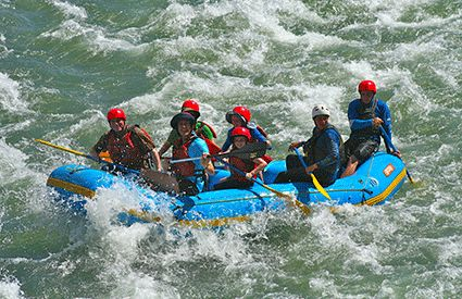 Rafting en México