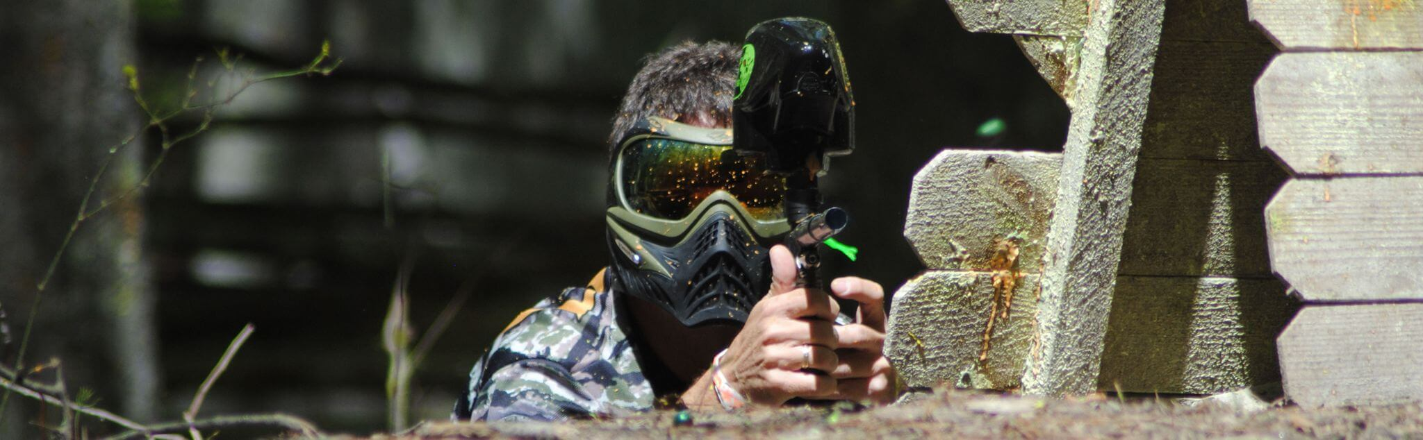 Paintball in Tlalpan