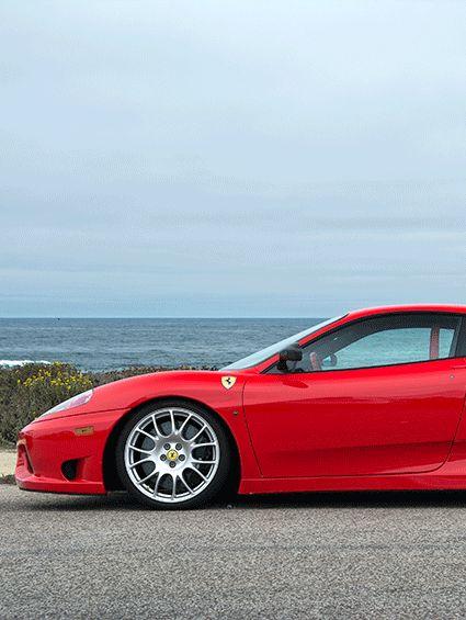 Manejar un Ferrari