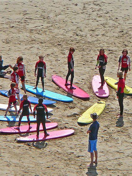 Campamentos de Surf