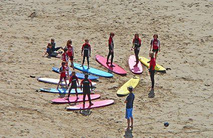 Campamentos de Surf en México