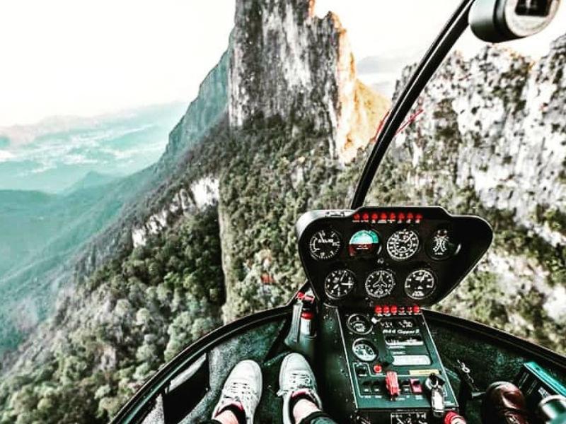 Conoce el helicóptero y disfruta de manera segura
