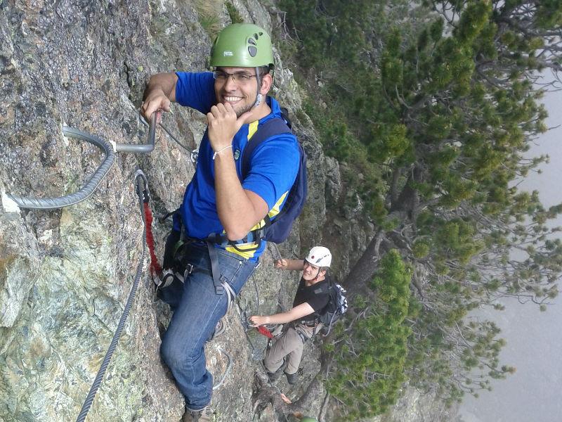 El mejor escalador es el que más se divierte