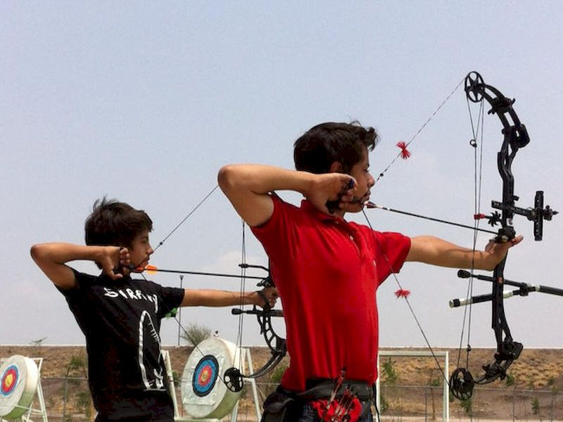 There is not a specific age to go archery