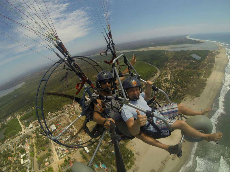 I would like to know more about how the paramotor works