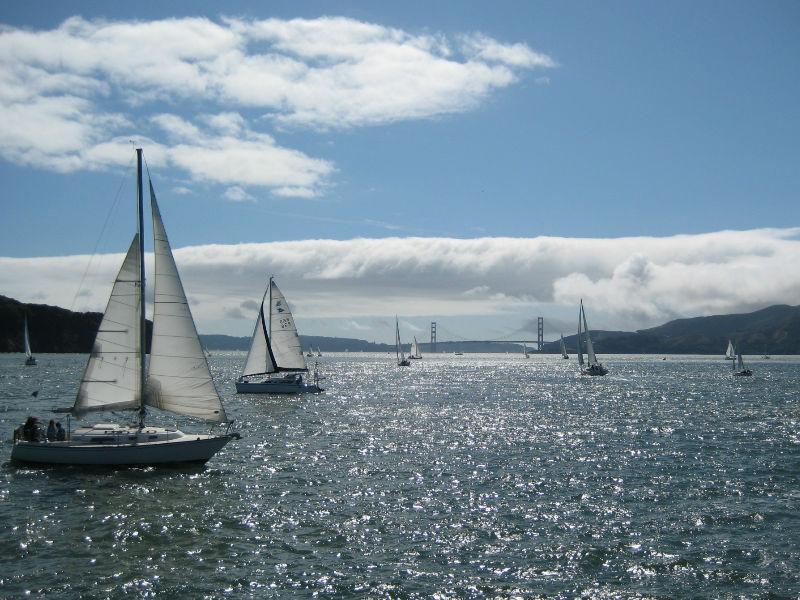 Sailing is an art itself