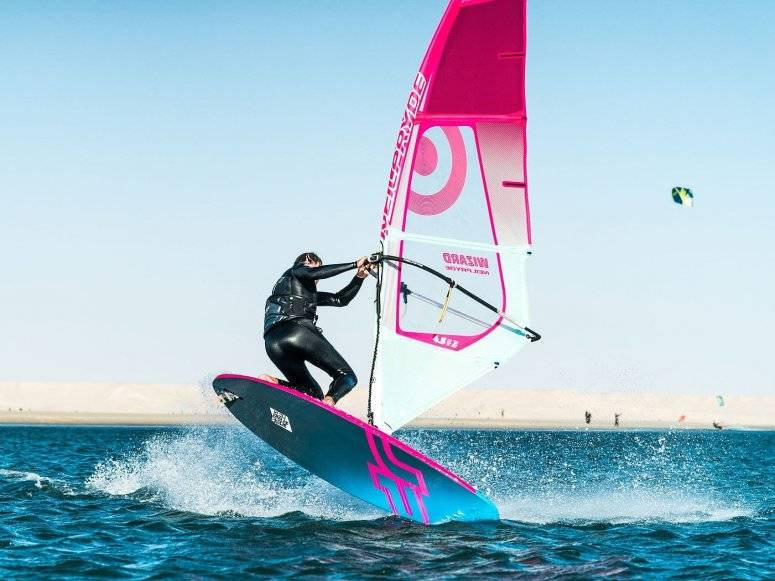 What can I achieve with my windsurf board