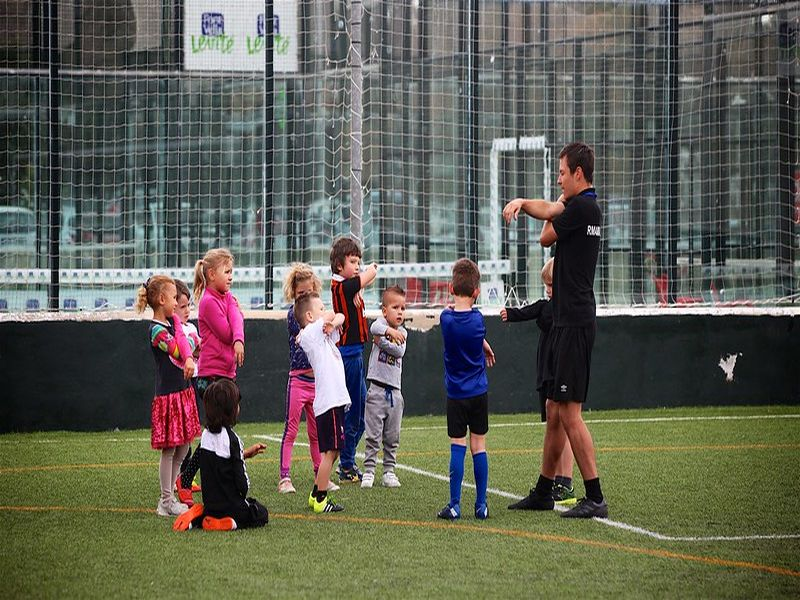 Soccer is for everyone: kids, teenagers and adults
